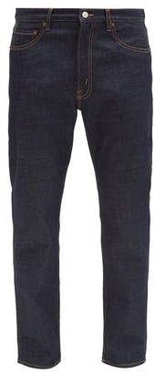 Jeanerica Jeans & Co. - Tm005 Cotton-blend Tapered-leg Jeans - Denim
