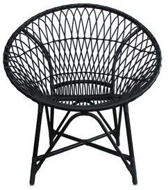 Bungalow Rose Alcantara Lounge Chair Color: Cosmos