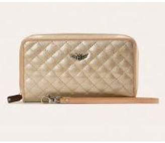 The Birds Nest CLASSIC WRISTLET WALLET-CANDY CHAMPAGNE