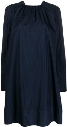 Nina Ricci Gathered Collar Dress