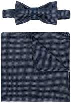 fe-fe bow-tie pocket square set