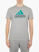 adidas Grey Equipment T-Shirt