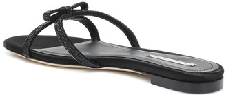 Marco De Vincenzo Embellished leather slides