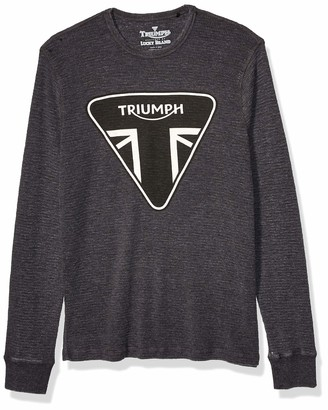 Lucky Brand Men's Triumph Logo Thermal Tee