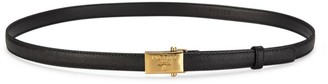 Prada Narrow Saffiano Leather Belt