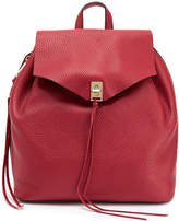 Rebecca Minkoff Darren Red Leather Backpack