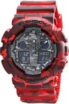 Casio Men's G-Shock GA100CM-4A Resin Quartz Watch