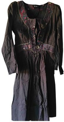 Etoile Isabel Marant Brown Cotton Dresses