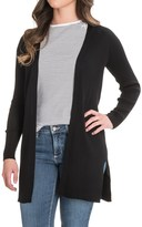 Cable & Gauge Ribbed Cardigan Sweater (For Women)