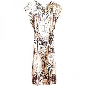 Jean Louis Scherrer Jean-louis Scherrer Multicolour Silk Dress for Women Vintage