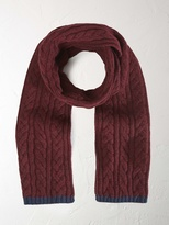 White Stuff Ralph cable scarf
