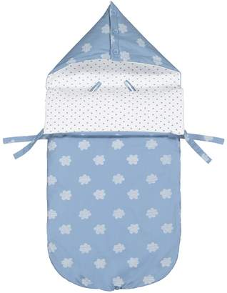La Redoute Collections Printed Hooded Sleeping Bag