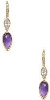 Ila Pacey Amethyst & Sapphire Drop Earrings