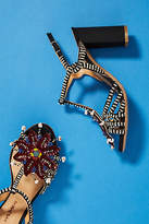 Maliparmi Beaded Heeled Sandals