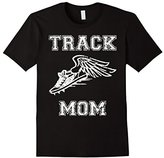 Track Mom Distressed Vintage Look T Shirt