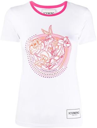 Iceberg crystal embellished T-shirt