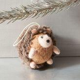 west elm Felt Hedgehog Ornament