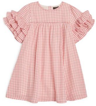 Velveteen Ginny Gingham Dress (8-12 Years)