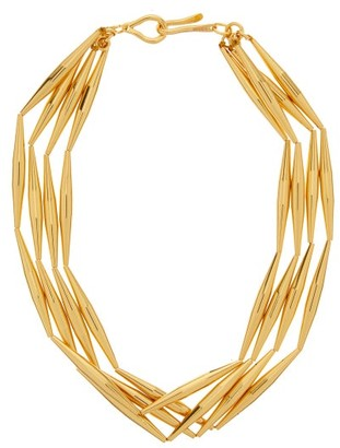 Tohum Lumia Helia 24kt Gold-plated Choker Necklace - Gold
