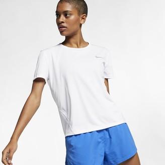Nike Women's Short-Sleeve Running Top Miler