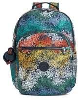Kipling Patterned Backpack