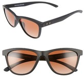 Oakley Women's Moonlighter 53Mm Sunglasses - Matte Black/ Vr50 Brown