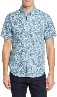 Reyn Spooner Regular Fit Floral Short Sleeve Button-Down Shirt