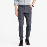 J.Crew Bowery slim pant in brushed cotton twill