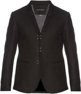 John Varvatos Cotton hook and bar blazer