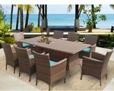 tk.TAKEO KIKUCHI Classics Laguna Patio Dining Chair with Cushion Classics Color: Aruba