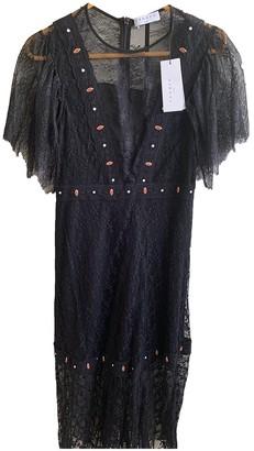Sandro Spring Summer 2019 Black Lace Dress for Women