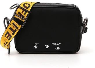 Off-White Logo Print Crossbody Bag