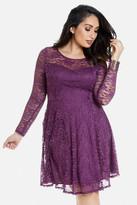 Fashion to Figure Nicolette Lace Flare Dress