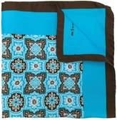 Kiton floral print scarf