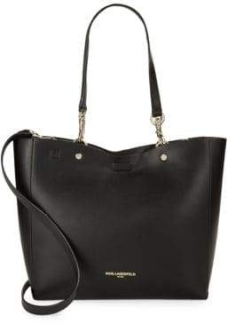 Karl Lagerfeld Paris Adele Faux-Leather Tote