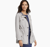 Johnston & Murphy Anorak with Striped-Knit Lining