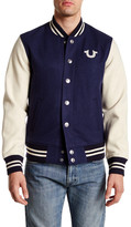 True Religion Collegiate Varsity Jacket