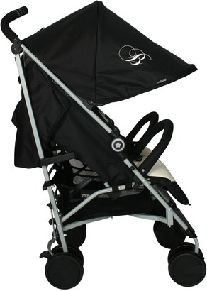 My Babiie Billie Faiers MB22 Black and Cream Double Stroller