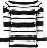 Blugirl bateau neck jumper - women - Cotton - 40