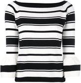 Blugirl bateau neck jumper - women - Cotton - 42