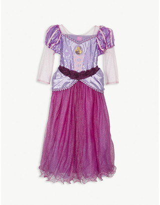 Selfridges Rapunzel costume and tiara 7-8 years