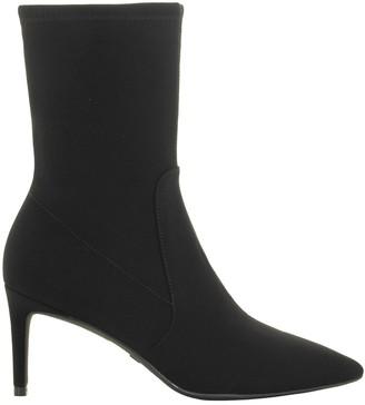 Stuart Weitzman Black Ankle Boot