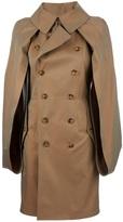Junya Watanabe Comme Des Garçons boxy sleeve trench coat