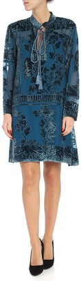 Alberta Ferretti Devore Dress
