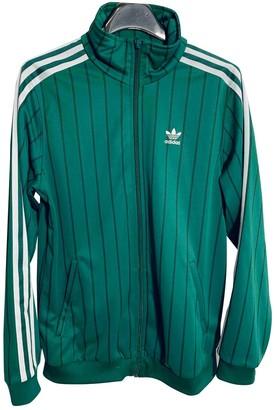 adidas Green Polyester Jackets