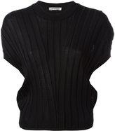 Sportmax ribbed knit T-shirt - women - Polyamide/Viscose - M
