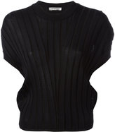 Sportmax ribbed knit T-shirt - women - Polyamide/Viscose - S