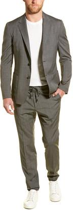 Ermenegildo Zegna Z Techmerino Wash&Go 2Pc Wool Suit With Flat Pant