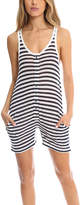 T by Alexander Wang Striped Baggy Oversize Romper