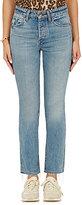 Helmut Lang Women's High-Rise Crop Jeans-LIGHT BLUE
